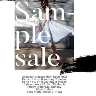 Sau lee sample sale