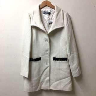 原價7590全新 wanko專櫃羊毛香奈兒風大衣