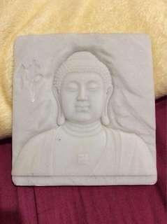 Buddha 3D stone photo frame