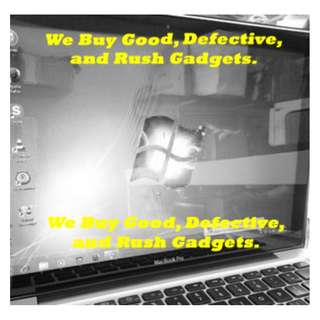 We Buy Rush or Pawn Laptop and Macbook