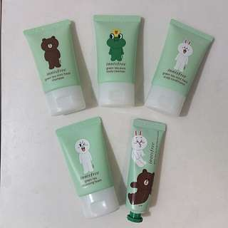 Innisfree X LINE Limited Edition Travel Kit