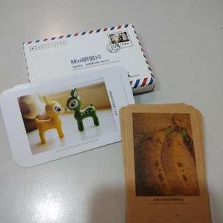 明信片造型小卡片