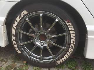 Advan RS 17 racing rim