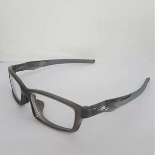 (Virtually Brand NEW) Oakley Crosslink™ Polished Grey Smoke
