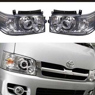 [Pre order] Toyota hiace projector headlight (2005-2009)
