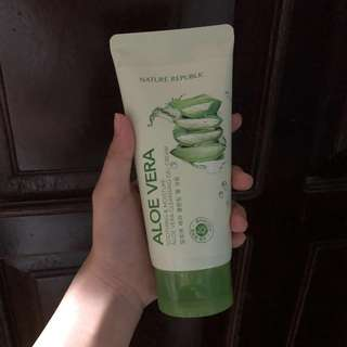 Nature Republic Aloe Vera Cleansing Gel Cream