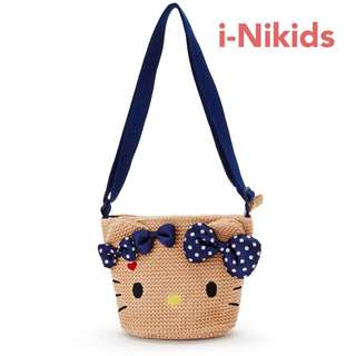 🇯🇵日本直送 - 原裝日版 Sanrio - Hello Kitty 凱蒂貓拉鍊斜孭袋