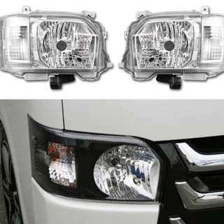 [Pre order ] Toyota hi ace clear headlight (2014-2016)
