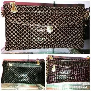 2 in 1. Clutch n sling bag