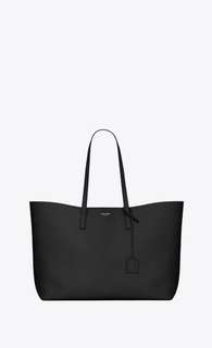 SAINT LAURENT 100% authentic shopper tote in black