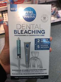 Dental bleaching(imported from german)