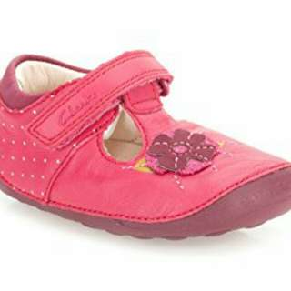 Girls Clarks First Shoes 'Little Poppy'