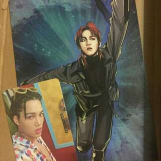[Special Set] Album with photocard + Chanyeol doll