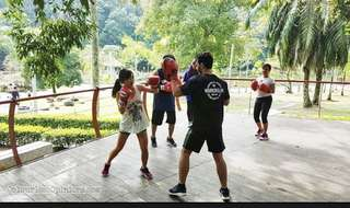 Personal boxing session