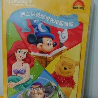 迪士尼美語世界 學習組合