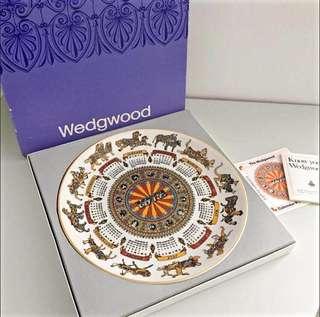 Wedgewood 古董盤 1972 英國全新 老件 裝飾盤