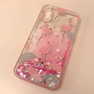 IPhone X 火烈鳥電話殼phone case