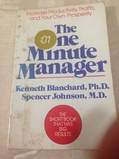 The One Minute Manager - Blanchard & Spencer
