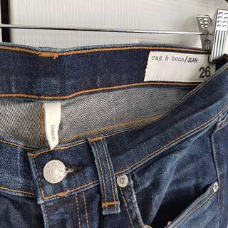 Aritzia Rag & Bone Skinny Jeans Medium Wash