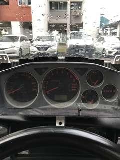 Evo speedometer.