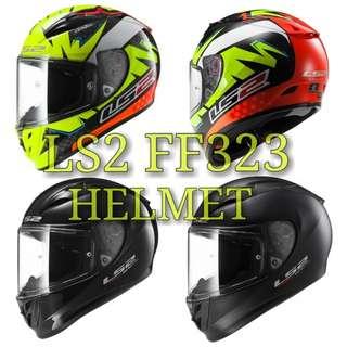 LS2 FF323 FULLFACE HELMET..🤗!!