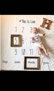 Baby Towel Clothes Months Photograph Props Newborn