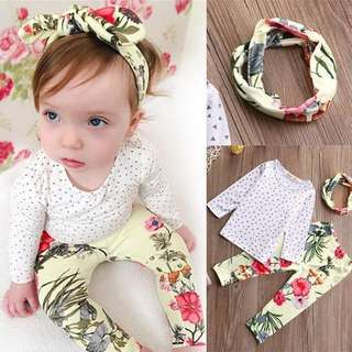 SET HEADBAND 3in1
