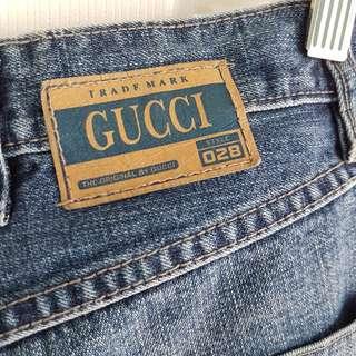 *Half price drop Gucci Vintage Authentic Jeans