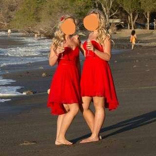 Semi Formal Red Dress (2)