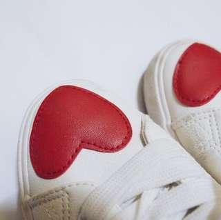 Korean Fashion White Shoes