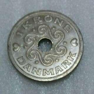 Denmark Krona Coin