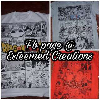 Anime Manga tshirt
