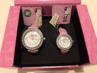 Hello Kitty Quartz Watch 手錶 x Swarovski