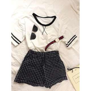 春裝韓系潮流短版上衣 學生風格棒球啦啦隊 全新