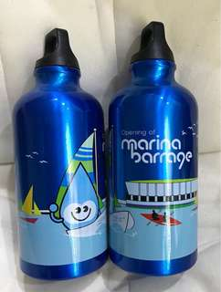 $8 for 2 Marina Barrage water bottles [by mail only]