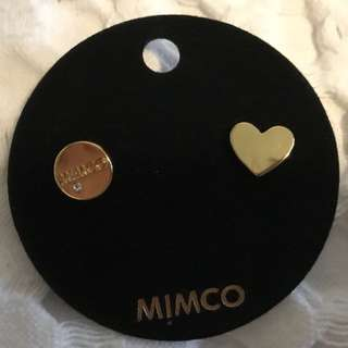 Mimco Earrings Brand New