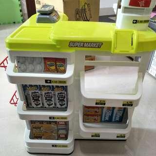 超市櫃台 玩具櫃台