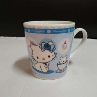 Kitty馬克杯-藍