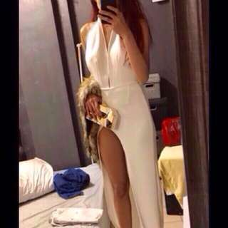 white long gown for sale