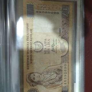 Cyprus Vintage Currency