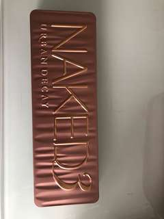 Naked 3 Palette Unused