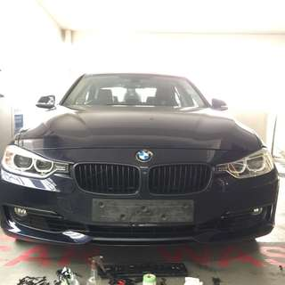 BMW 328i plastidip spraying services plasti dip