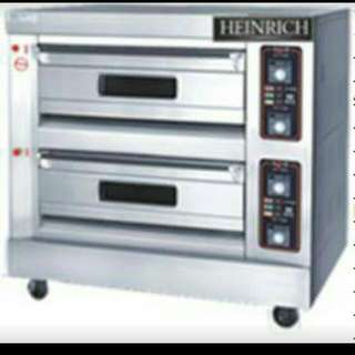 TWO (2) DECK GAS BAKING OVEN - FOUR TRAY CAPACITY