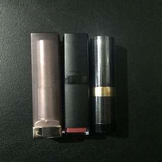 Lipstick Bundle (Elf, Maybelline Revlon)