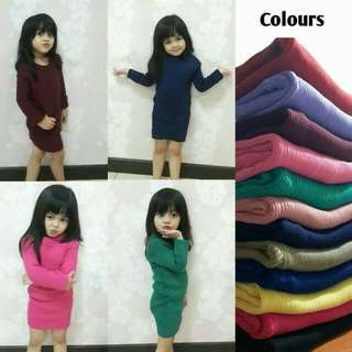 Dress rajut anak adila dress