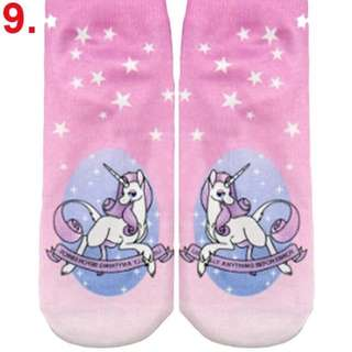 🦄🦄 Dreamy Unicorn Socks - Design #4 Unicorn Princess - Literally Anything Before Bros 🦄🦄