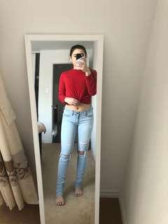 AE jeans lightwash