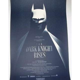 Batman Dark Knight Rises, Mondotee print by Olly Moss