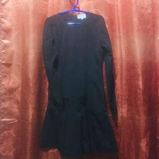 Black Long Sleeves Dresss