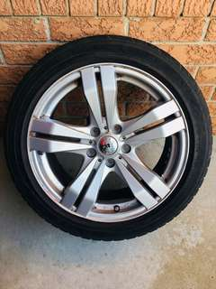 Brand New Mazda 3 Rims with all season tires